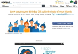 Facebook it amazon birthday gift negle Choice Image