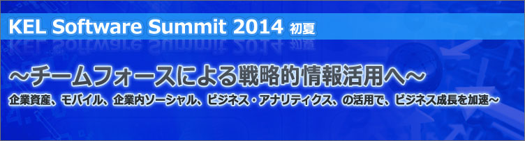 KEL Software Summit 2014 ����